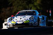 October 11-13, 2018: IMSA Weathertech Series, Petit Le Mans: 912 Porsche GT Team, Porsche 911 RSR, Laurens Vanthoor, Earl Bamber, Mathieu Jaminet (throwback livery)