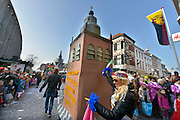 Nederland, Nijmegen, 15-2-2015Carnavalsoptocht door KnotsenburgFOTO: FLIP FRANSSEN/ HOLLANDSE HOOGTE