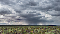 Approaching storm - somewhere along the countless dirt roads of Bisti Wilderness, New Mexico
