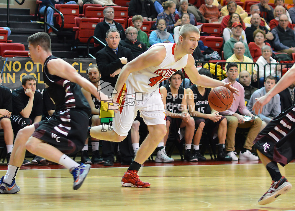 NCAA Men's Basketball: VMI swamps Washington College, 128-54