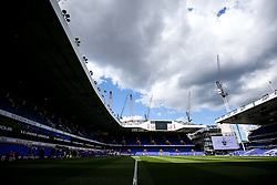 General View inside White Hart Lane with preperations underway before the final game at the stadium before it's closure for demolition and redevelopment - Rogan Thomson/JMP - 14/05/2017 - FOOTBALL - White Hart Lane - London, England - Tottenham Hotspur v Manchester United - Premier League.