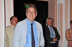 JEREMY LEWIS editor of the Oldie at the 20th anniversary reception for The Oldie Magazine held at Simpsons in The Strand, London on 19th July 2012.