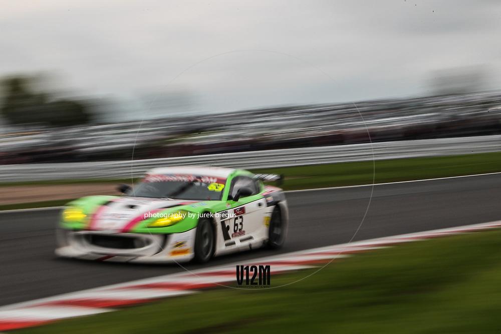 Team Hard Autoaid/RCIB Insurance Racing | Ginetta G55 GT4 | Matt Chapman | Sam Webster | British GT Championship | Oulton Park | 17 April 2017 | Photo: Jurek Biegus