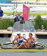 Eton Dorney, Windsor, Great Britain,<br /> <br /> 2012 London Olympic Regatta, Dorney Lake. Eton Rowing Centre, Berkshire[ Rowing].<br /> <br /> Description; Women's Pairs,  Gold Medalist Helen GLOVER and Heather STANNING. GBR W2-   are watched by Umpire Eton Dorney, Windsor, Great Britain,<br /> <br /> 2012 London Olympic Regatta, Dorney Lake. Eton Rowing Centre, Berkshire[ Rowing].<br /> <br /> Description; Women's Pairs,  Gold Medalist  Heather STANNING and Helen GLOVER [right] and watched by Michael EASTAUGHFFE.   Eton Dorney, Windsor, Great Britain,<br /> <br /> 2012 London Olympic Regatta, Dorney Lake. Eton Rowing Centre, Berkshire[ Rowing].<br /> <br /> Description; Women's Pairs,  Gold Medalist  Heather STANNING. GBR W2-    Dorney Lake.<br /> <br /> 12:28:56  Wednesday  01/08/2012<br /> <br /> [Mandatory Credit: Peter Spurrier/Intersport Images]<br /> <br /> <br /> 12:28:56  Wednesday  01/08/2012<br /> <br /> [Mandatory Credit: Peter Spurrier/Intersport Images]<br />  Dorney Lake.<br /> <br /> 11:59:13  Wednesday  01/08/2012<br /> <br /> [Mandatory Credit: Peter Spurrier/Intersport Images]