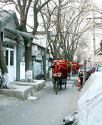 Here come the rickshaws, ready to load up tourists for a zippy trip through the Wangzuo Hutong in the heart of Beijing, China. This particular hutong dates from the 1600s, and its tiny houses nowa re some of the most valuable real estate in the city.