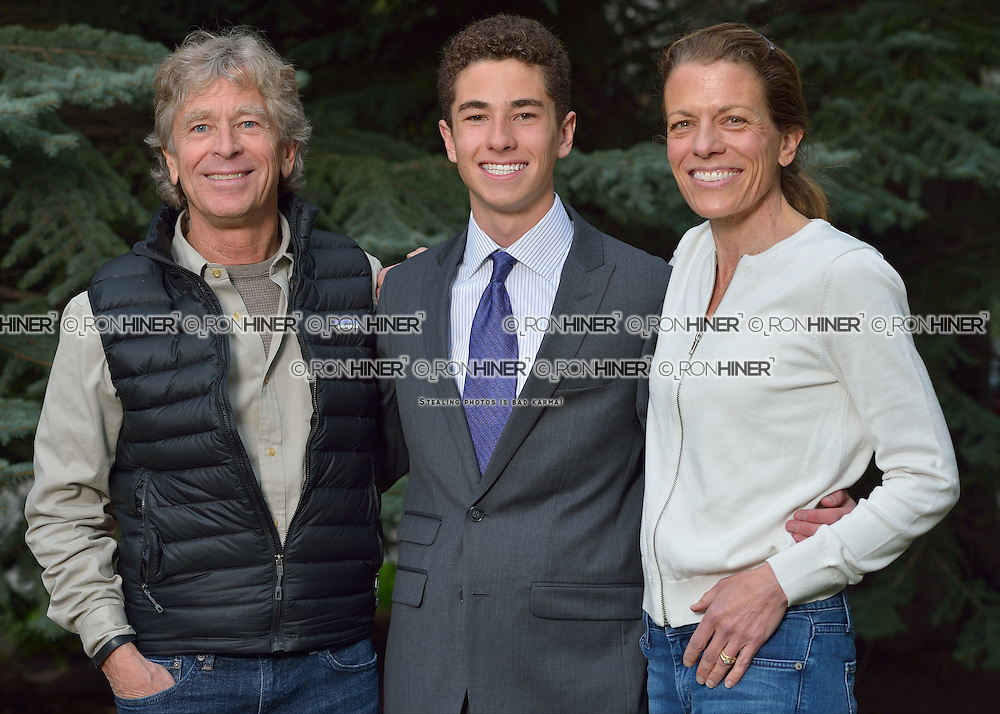 Vail Mountain School Prom Night; Snowden Smith, Peter Smith, Elena Georgouses