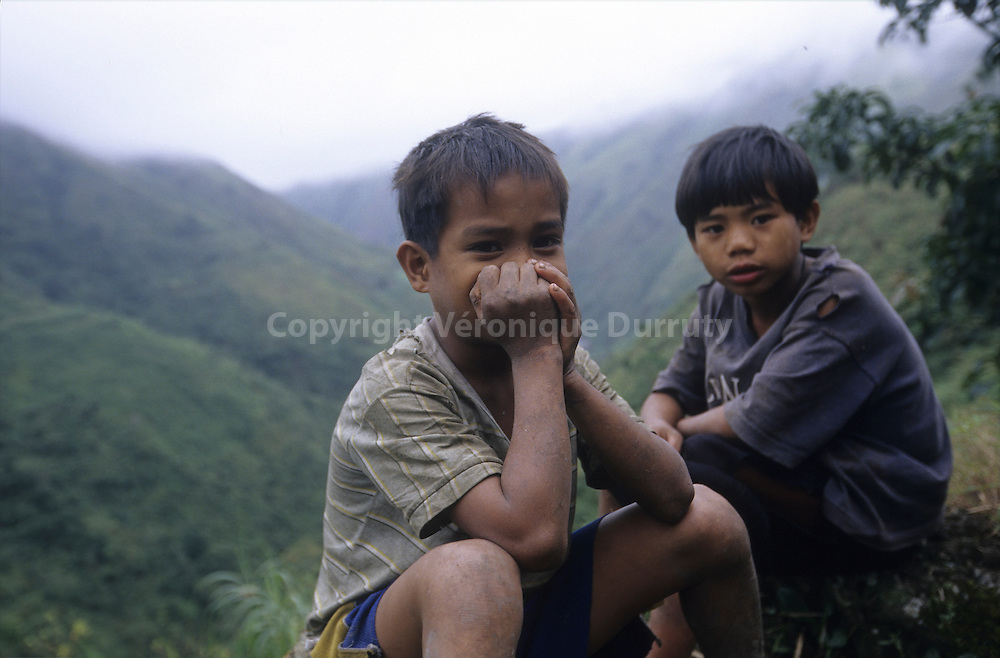LITTLE BOYS FROM NORTH LUZON ISLAND, THE PHILIPPINES