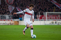 December 8, 2017 - Stuttgart, Germany - Stuttgarts Benjamin Pavard initiates a counter during the Bundesliga match between VfB Stuttgart and Bayer 04 Leverkusen at Mercedes-Benz Arena on December 8, 2017 in Stuttgart, Germany. (Credit Image: © Bartek Langer/NurPhoto via ZUMA Press)