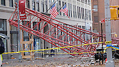 Construction Crane Collapse In Tribeca, New York