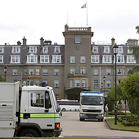 2.7.2005. Gleneagles Hotel G8<br />