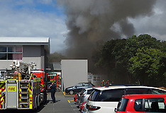 Wellington-Fire crews fight blaze at Lower Hutt High School