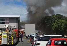 Wellington-Fire crews fight blaze at Lower Hutt High School