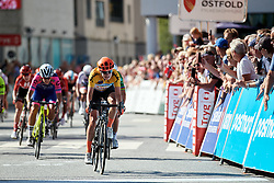 Marianne Vos (NED) wins Ladies Tour of Norway 2019 - Stage 4, a 154 km road race from Svinesund to Halden, Norway on August 25, 2019. Photo by Sean Robinson/velofocus.com