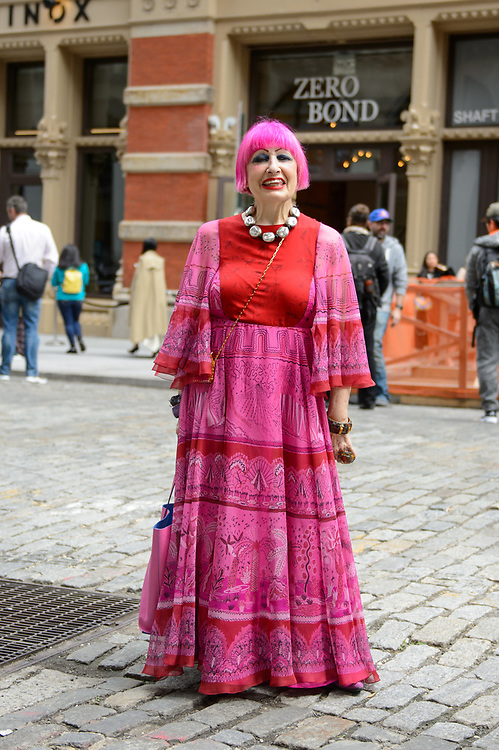Zandra Rhodes at Valentino Resort 2018