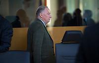 DEU, Deutschland, Germany, Berlin, 15.01.2018: Der Vorsitzende der AfD-Bundestagsfraktion, Alexander Gauland (MdB, Alternative für Deutschland, AfD) vor Beginn der Fraktionssitzung der AfD-Fraktion im Deutschen Bundestag.