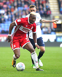 Adama Traore of Middlesbrough in action - Mandatory by-line: Jack Phillips/JMP - 09/09/2017 - FOOTBALL - Macron Stadium - Bolton, England - Bolton Wanderers v Middlesbrough - English Football League Championship