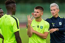 Rijad Kobiljar during training of NK Olimpija Ljubljana , on June 13, 2018 in Sports park Siska, Ljubljana, Ljubljana, Slovenia. Photo by Ziga Zupan / Sportida
