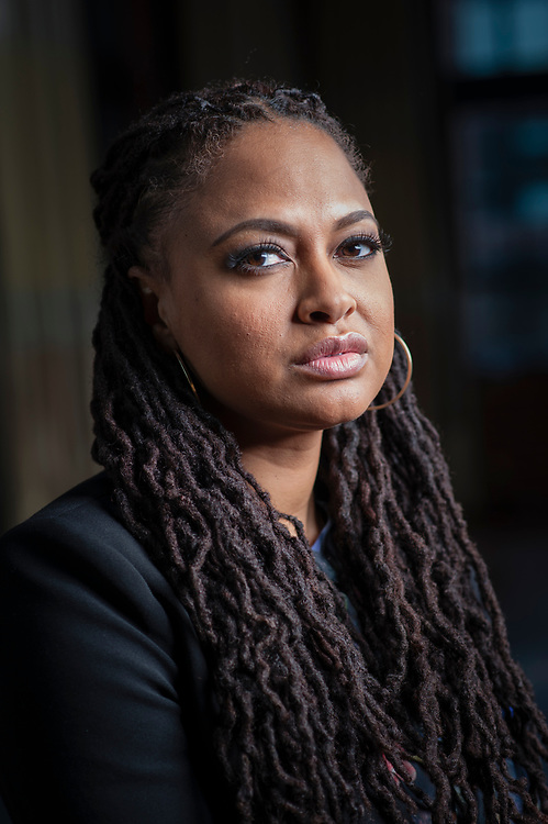"WASHINGTON, DC -- DECEMBER 12, 2014: Director Ava DuVernay on the publicity tour for the  film, ""Selma""…. (photo by André Chung)"