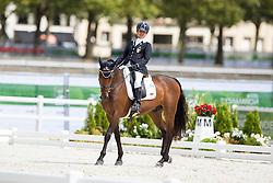 Francesca Salvade, (ITA), Muggel 4 - Individual Test Grade II Para Dressage - Alltech FEI World Equestrian Games™ 2014 - Normandy, France.<br /> © Hippo Foto Team - Jon Stroud <br /> 25/06/14