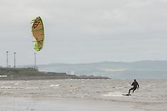Kite Surfer, Edinburgh, 22 May 2018