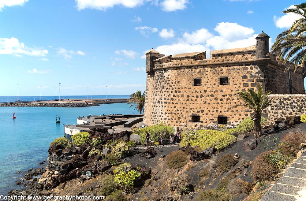 International museum of contemporary art,, Castillo de San José, Arrecife, Lanzarote, Canary Islands, Spain