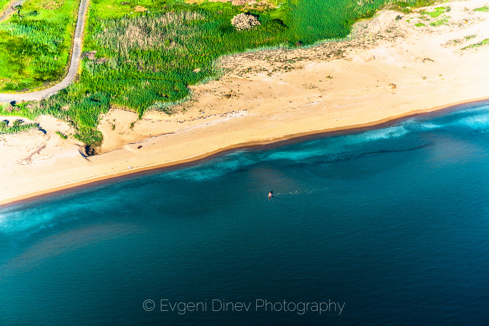 Aerial photos of south coastline of Black Sea