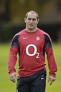 Marlow, GREAT BRITAIN,  Shaun PERRY, during the ,  England Rugby Training session,  at Bisham Abbey, ENGLAND. 31/10/2006. [Photo, Peter Spurrier/Intersport-images].....