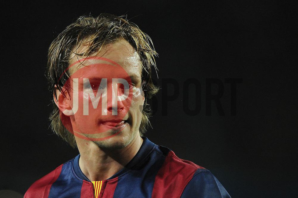 Barcelona's Ivan Rakitic - Photo mandatory by-line: Dougie Allward/JMP - Mobile: 07966 386802 - 18/03/2015 - SPORT - Football - Barcelona - Nou Camp - Barcelona v Manchester City - UEFA Champions League - Round 16 - Second Leg
