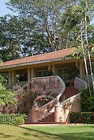 Hacienda style club house