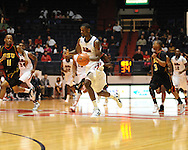 "Ole Miss' Terrance Henry (1) scores vs. Grambling State during the first half at the C.M. ""Tad"" Smith Coliseum in Oxford, Miss. on Monday, November 14, 2011.."