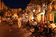 Night life in Sicily