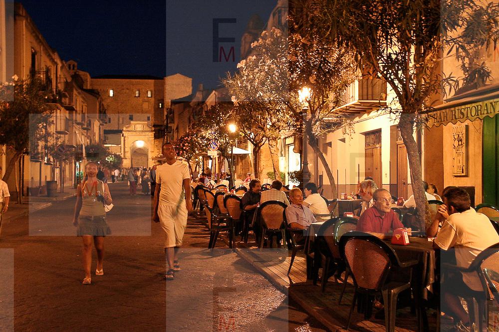 Night life in Sicily