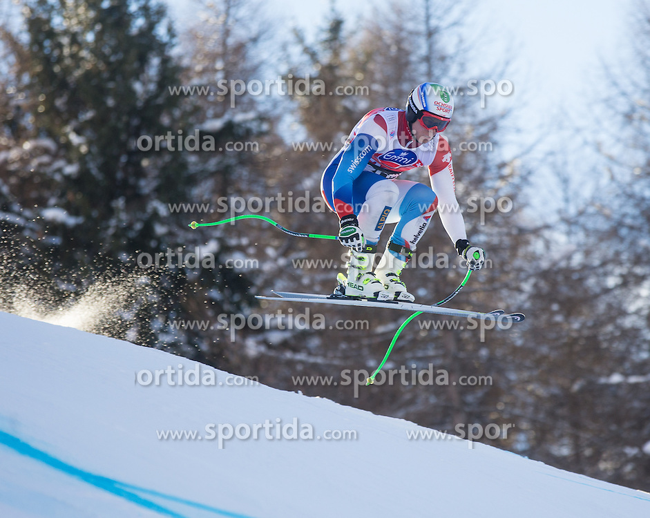 28.12.2013, Stelvio, Bormio, ITA, FIS Ski Weltcup, Bormio, Abfahrt, Herren, 2. Traininglauf, im Bild Ralph Weber (SUI) // Ralph Weber of Switzerland in action during mens 2nd downhill practice of the Bormio FIS Ski Alpine World Cup at the Stelvio Course in Bormio, Italy on 2012/12/28. EXPA Pictures © 2013, PhotoCredit: EXPA/ Johann Groder