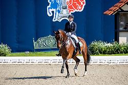 BALKENHOL Anabel (GER), High Five<br /> Hagen - Horses and Dreams 2019 <br /> Nürnberger Burg-Pokal St-Georg-Special<br /> Qualifikation zur Finalqualifikation<br /> 25. April 2019<br /> © www.sportfotos-lafrentz.de/Stefan Lafrentz