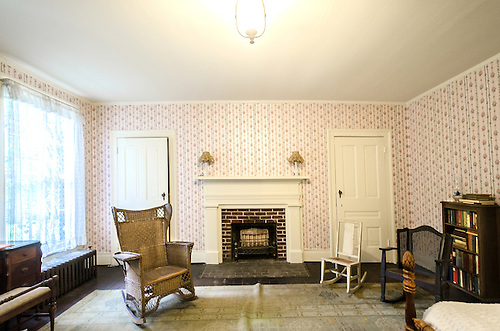 William Faulkneru0027s Guest Room Is Pictured At Rowan Oak, May 30, 2015, In