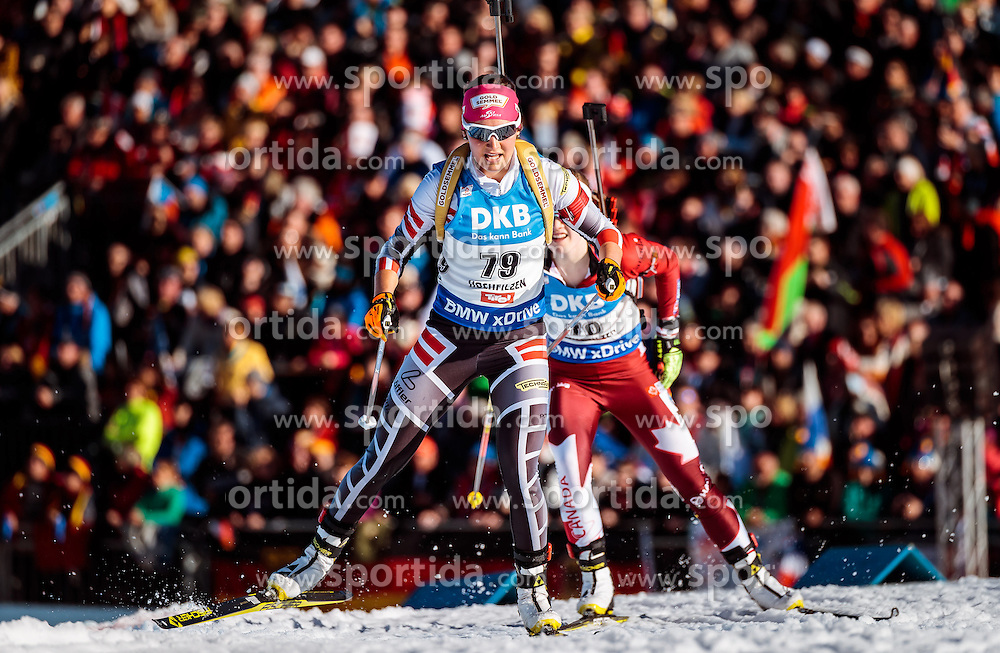 15.02.2017, Biathlonarena, Hochfilzen, AUT, IBU Weltmeisterschaften Biathlon, Hochfilzen 2017, Damen, Einzel, im Bild Dunja Zdouc (AUT) // Dunja Zdouc of Austria // during individual women the IBU Biathlon World Championship at the at the Biathlonarena in Hochfilzen, Austria on 2017/02/15. EXPA Pictures © 2017, PhotoCredit: EXPA/ JFK