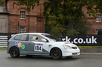 #184 Peter Davies Honda Civic 2000  during CNC Heads Sports / Saloon Championship as part of the BARC NW Championship Raceday at Oulton Park, Little Budworth, Cheshire, United Kingdom. October 21 2017. World Copyright Peter Taylor/PSP.