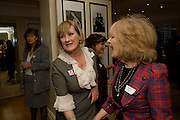 SUE CREWE; ANGELA HUTH, Grandmothers United for ASAP. Vogue House. Hanover Sq. London. 22 October 2008 *** Local Caption *** -DO NOT ARCHIVE -Copyright Photograph by Dafydd Jones. 248 Clapham Rd. London SW9 0PZ. Tel 0207 820 0771. www.dafjones.com