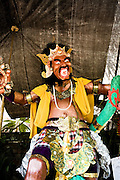 """Ogoh-ogoh, demonic statue made for Nyepi, the  Balinese """"Day of Silence"""""""