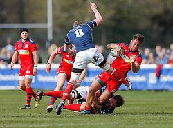 Bristol Rugby Flanker Jack Lam - Mandatory byline: Rogan Thomson/JMP - 02/04/2016 - RUGBY UNION - Richmond Athletic Ground - London, England - London Scottish v Bristol Rugby - Greene King IPA Championship.