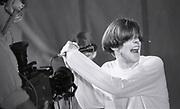 The Charlatans performing at Granada TV Studios, Manchester, 1990