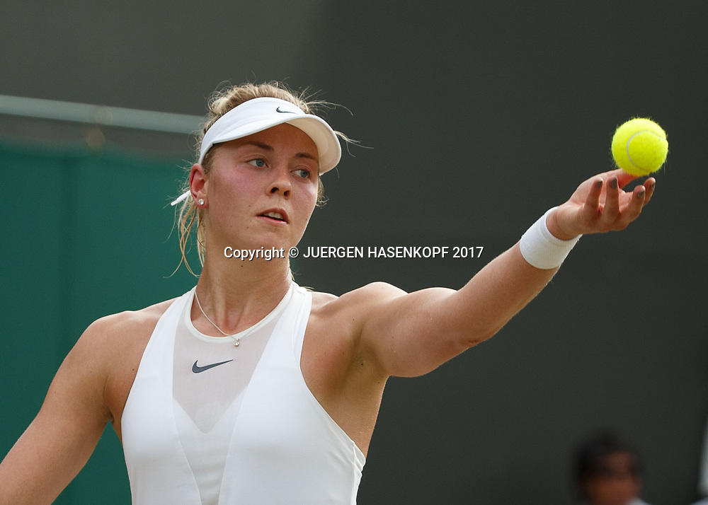 CARINA WITTHOEFT (GER)<br /> <br /> Tennis - Wimbledon 2017 - Grand Slam ITF / ATP / WTA -  AELTC - London -  - Great Britain  - 7 July 2017.