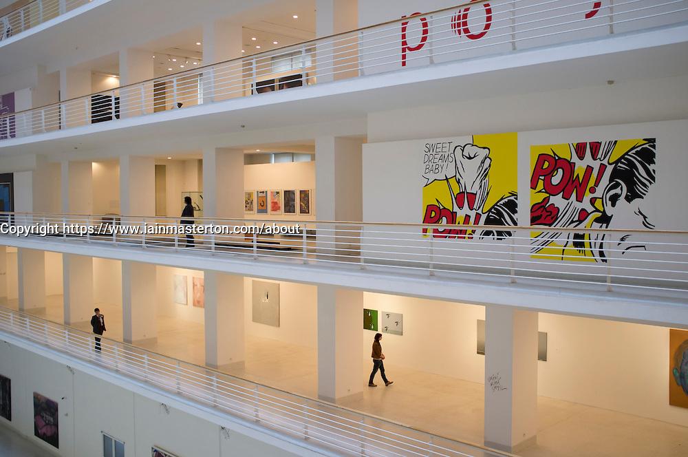 Museum of Modern Art or Veletrzni Palace Prague in Czech Republic