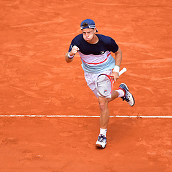 Diego Schwartzman of Argentina during Day 9 of the French Open 2018 on June 3, 2018 in Paris, France. (Photo by Dave Winter/Icon Sport)