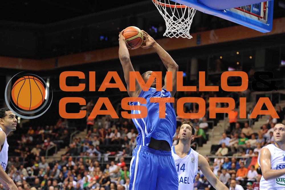 DESCRIZIONE : Siauliai Lithuania Lituania Eurobasket Men 2011 Preliminary Round Israele Francia<br /> GIOCATORE : kevin seraphin<br /> CATEGORIA : schiaccita<br /> SQUADRA : Israele Francia<br /> EVENTO : Eurobasket Men 2011<br /> GARA : Israele Francia<br /> DATA : 01/09/2011 <br /> SPORT : Pallacanestro <br /> AUTORE : Agenzia Ciamillo-Castoria/GiulioCiamillo<br /> Galleria : Eurobasket Men 2011 <br /> Fotonotizia : Siauliai Lithuania Lituania Eurobasket Men 2011 Preliminary Round israele Francia<br /> Predefinita :