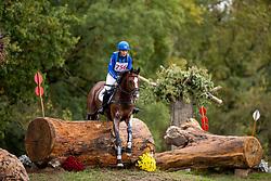 De Jong Sanne, NED, Hatary MBF<br /> Le Lion d'Angers - FEI Eventing World Breeding Championship 2019<br /> Teilprüfung Cross-Country 7 jährige<br /> 19. Oktober 2019<br /> © www.sportfotos-lafrentz.de/Dirk Caremans