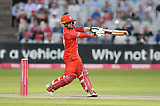 Lancashires Alex Davies during the Vitality T20 Blast North Group match between Lancashire Lightning and Durham Jets at the Emirates, Old Trafford, Manchester, United Kingdom on 7 August 2018.