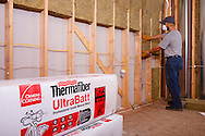 Owens Corning Thermal Fiber Installed
