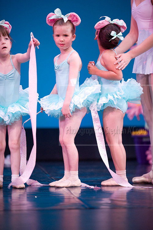 Wellington, NZ. 7.12.2013. Ribbons, from the Wellington Dance & Performing Arts Academy end of year stage-show 2013. Little Show, Saturday 10am. Photo credit: Stephen A'Court.  COPYRIGHT ©Stephen A'Court