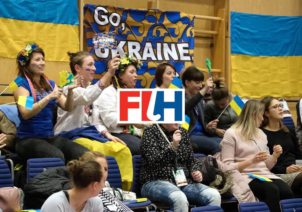 BERLIN - Indoor Hockey World Cup<br /> Namibia - Ukraine<br /> foto: Fans<br /> WORLDSPORTPICS COPYRIGHT FRANK UIJLENBROEK